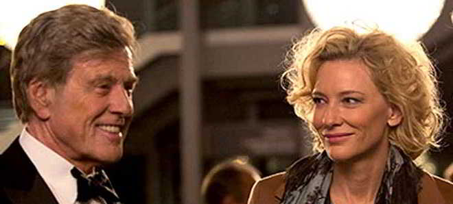 Cate Blanchett e Robert Redford no trailer legendado em português 'Verdade'