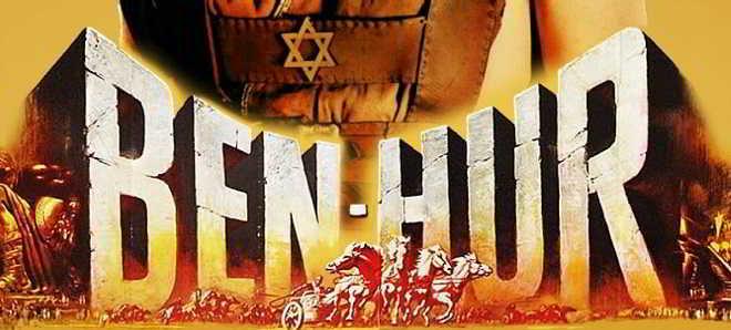 Jack Huston e Morgan Freeman nas primeiras imagens do novo 'Ben-Hur'