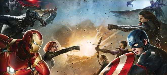 Novo trailer e poster oficial de 'Capitão América: Guerra Civil'