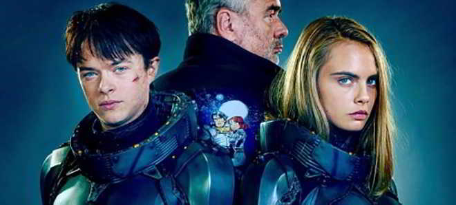 Cara Delevingne e Dane DeHaan na primeira imagem de 'Valerian and the City of a Thousand Planets'