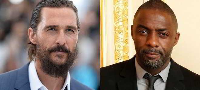 Matthew McConaughey e Idris Elba confirmados em 'A Torre Negra'