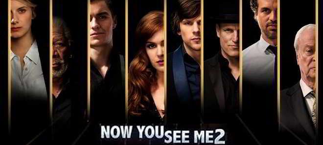 Série de posters individuais do thriller de ação 'Mestres da Ilusão 2'