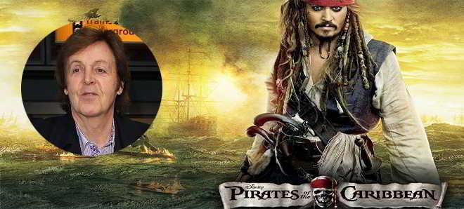 Sir Paul McCartney vai participar no quinto filme de 'Piratas das Caraíbas'