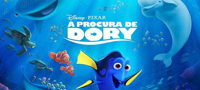 Divulgado um novo poster português da animação 'À Procura de Dory'