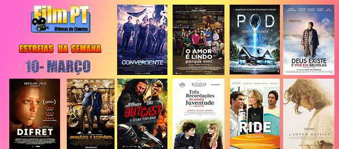 Estreias de Filmes da Semana: 10 de março de 2016