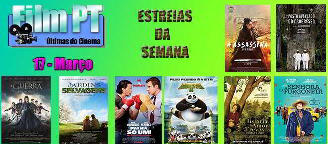 Estreias de Filmes da Semana: 17 de março de 2016