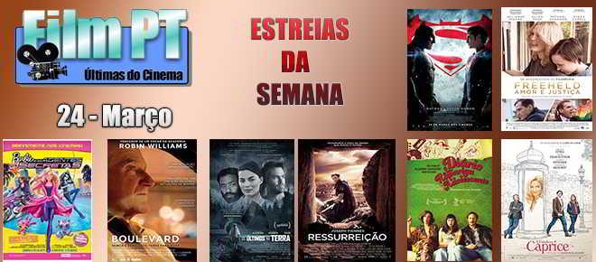 Estreias de Filmes da Semana: 24 de março de 2016