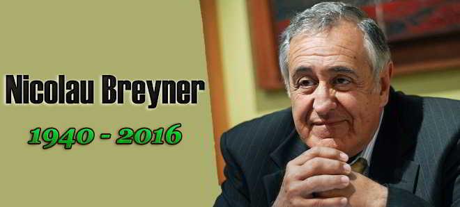 Morreu aos 75 anos, o ator, produtor e realizador Nicolau Breyner