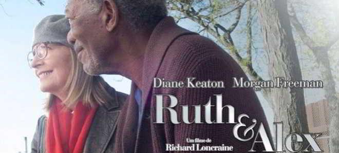Morgan Freeman e Diane Keaton no trailer em português de 'Ruth & Alex'