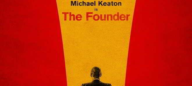 Primeiro poster de 'The Founder', a história da  McDonald's