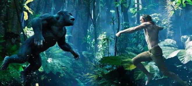 Apresentado o segundo trailer oficial de 'A Lenda de Tarzan'