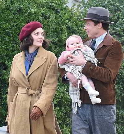 Brad Pitt e Marion Cotillard_Five Seconds of Silence 1