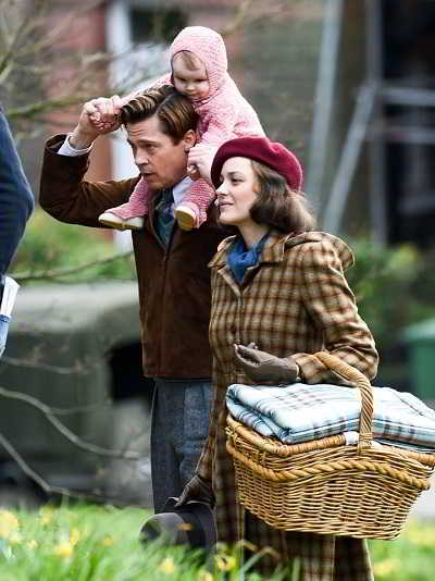 Brad Pitt e Marion Cotillard_Five Seconds of Silence 2