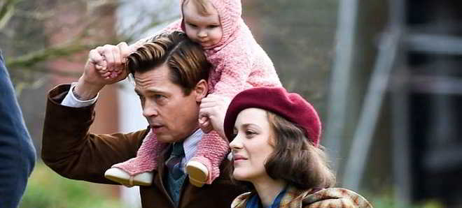 Brad Pitt e Marion Cotillard_Five Seconds of Silence