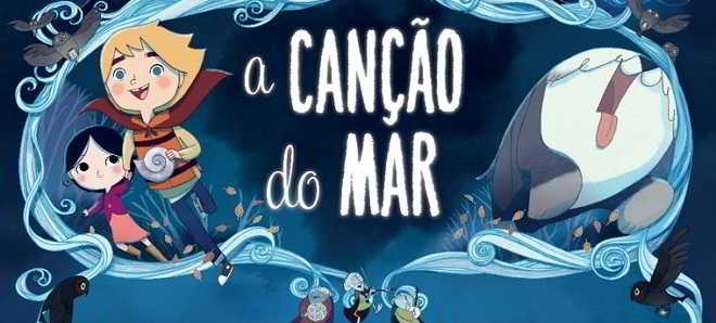 Poster e trailer dobrado em português da animação 'A Canção do Mar'
