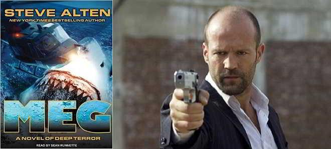 Jason Statham vai enfrentar um tubarão pré-histórico em 'Meg'