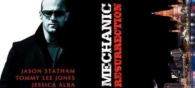 Jason Statham e Jessica Alba na primeira imagem de 'Mechanic: Resurrection'