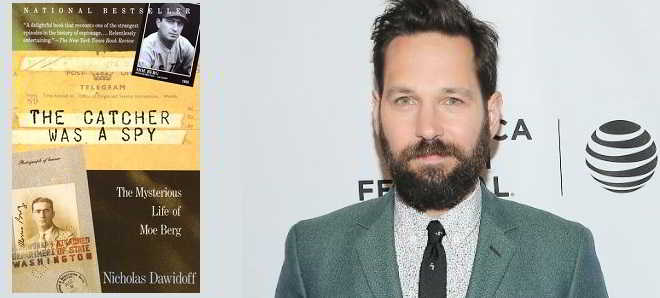 'The Catcher Was A Spy': Thriller de espionagem é o novo projeto de Paul Rudd