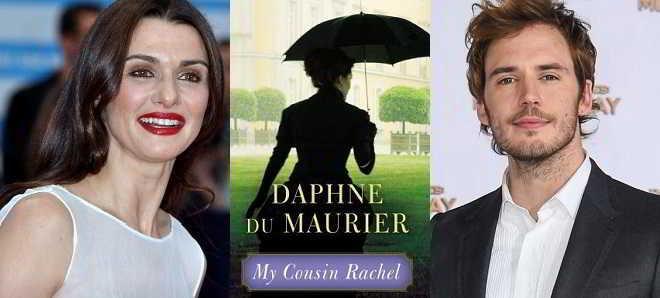 Rachel Weisz e Sam Claflin juntos no remake do romance 'A Minha Prima Raquel'