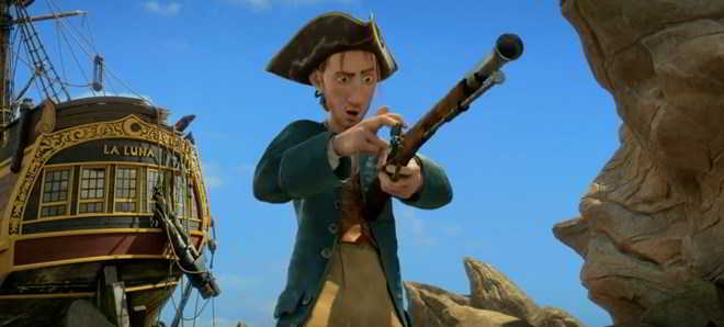 Segundo trailer dobrado em português da animação 'Robinson Crusoé'