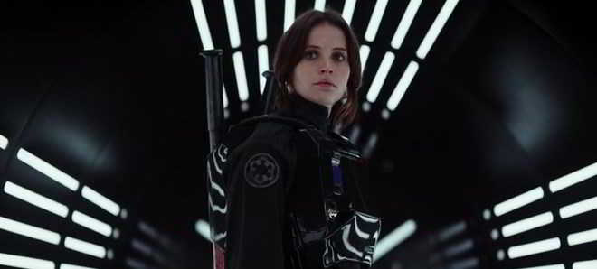 Divulgado o primeiro trailer oficial de 'Rogue One: A Star Wars Story'