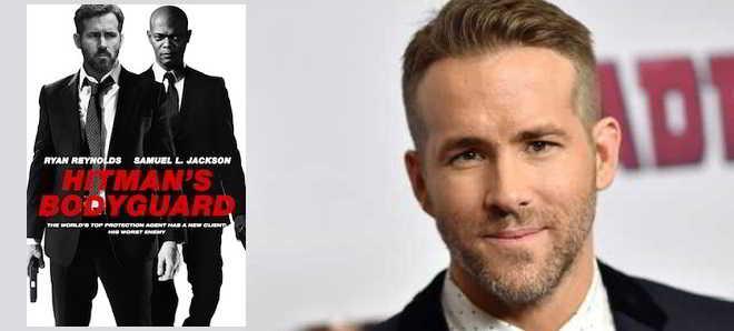 Início das filmagens de 'The Hitman's Bodyguard' com Ryan Reynolds