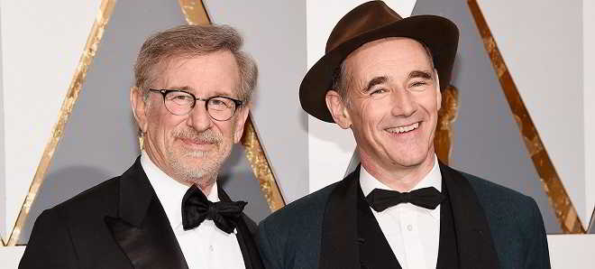 Steven Spielberg e Mark Rylance juntos em 'The Kidnapping of Edgardo Mortara'