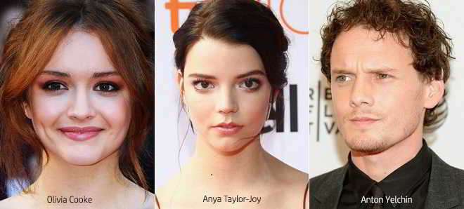 Olivia Cooke, Anya Taylor-Joy e Anton Yelchin no elenco de 'Thoroughbred'
