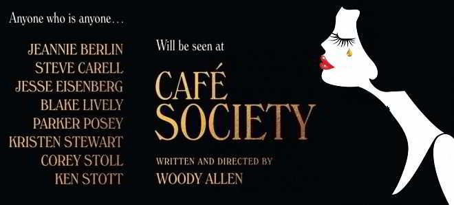 'Café Society': Primeiro trailer e poster da comédia romântica de Woody Allen