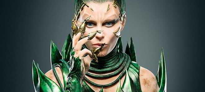 'Power Rangers' : Elizabeth Banks na primeira imagem como a vilã Rita Repulsa