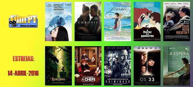 Estreias de Filmes da Semana: 14 de abril de 2016