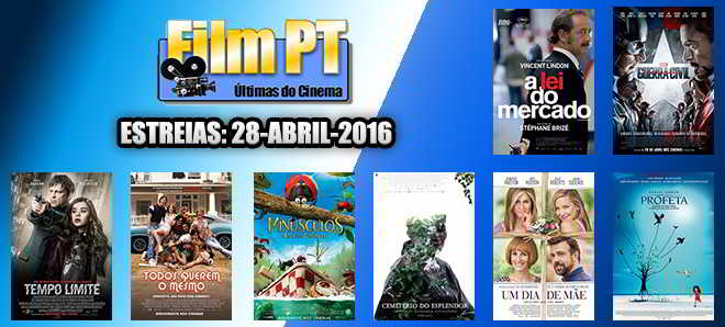 Estreias de Filmes da Semana: 28 de abril de 2016