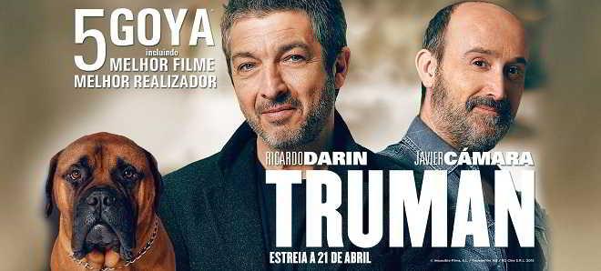 Poster nacional e trailer legendado em português de 'Truman'
