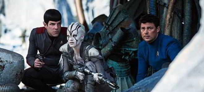 'Star Trek: Além do Universo': Veja Sofia Boutella como a alienígena Jaylah