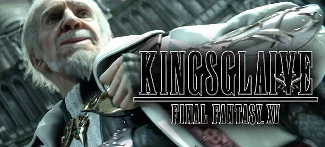 'Kingsglaive' é o título do filme baseado no jogo Final Fantasy XV