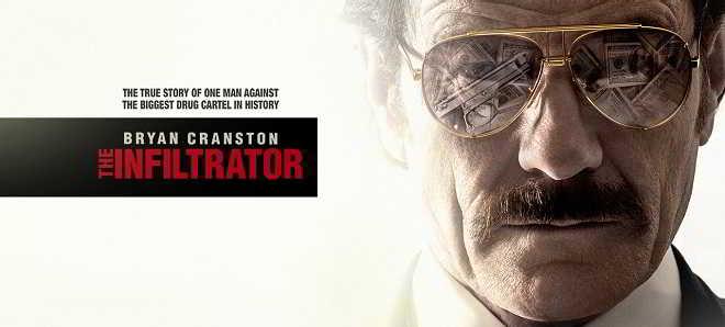 Bryan Cranston no poster e no primeiro trailer de 'The Infiltrator'