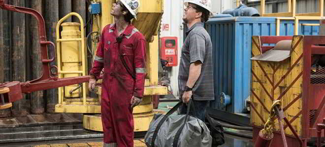 Mark Wahlberg no novo trailer do thriller dramático ''Deepwater Horizon'