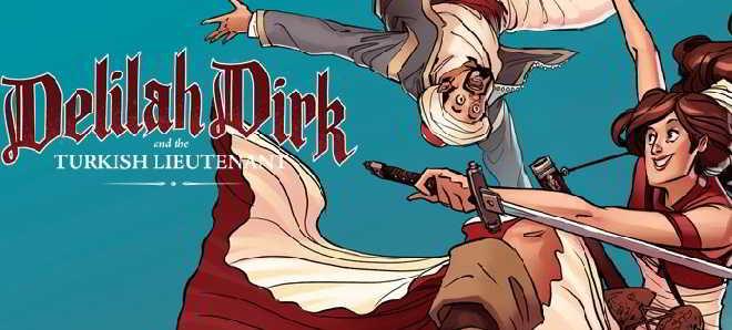 Disney tem planos para adaptar ao cinema a aventureira Delilah Dirk