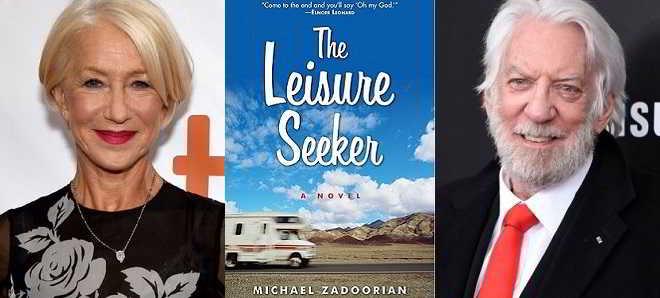 Helen Mirren e Donald Sutherland juntos em 'The Leisure Seeker'