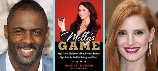 Idris Elba junta-se a Jessica Chastain nao drama biográfico 'Molly's Game'