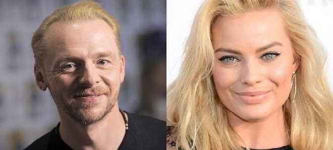 Simon Pegg juntou-se a Margot Robbie no elenco do thriller 'Terminal'