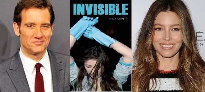 Clive Owen e Jessica Biel vão protagonizar o drama 'Invisible'