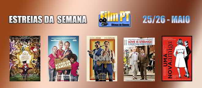 Estreias de Filmes da Semana: 25 e 26 de maio de 2016