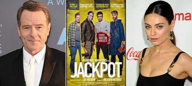 Bryan Cranston e Mila Kunis juntos no elenco do remake de 'Jackpot'