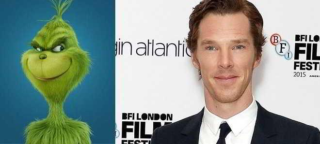 'Grinch': Remake animado com Benedict Cumberbatch foi adiado um ano