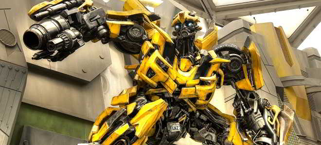 Revelado o novo visual de Bumblebee para 'Transformers: The Last Knights'
