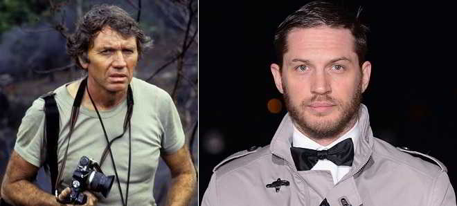 Tom Hardy vai interpretar um fotógrafo de guerra em 'Unreasonable Behavior'