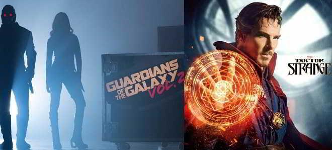 Reveladas as sinopses oficiais de 'Guardiões da Galáxia 2' e 'Doutor Estranho'