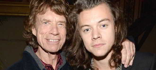 Harry Styles e Mick Jagger_Exile on Main Street