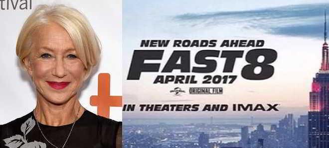 Helen Mirren adicionada ao elenco de 'Velocidade Furiosa 8'